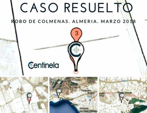Recuperación de colmenas robadas de Almería