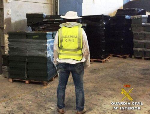 Recuperación de 610 colmenas robadas en Castellón