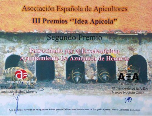 """Centinela gana el 2º premio a """"idea Apícola"""""""